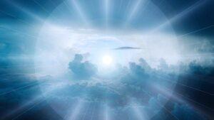 Beitragsbild - Himmel - Licht - Wie unsere Seele, unser Geist alles überlebt.