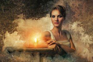 """Die Gefahren des Spiritismus oder als """"Lockmittel"""""""