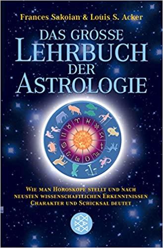 Buchempfehlung - Das grosse Lehrbuch der Astrologie.