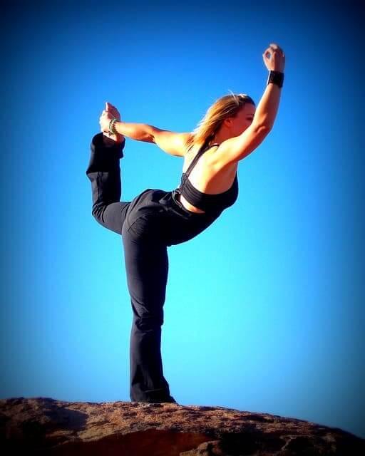 Yoga Entspannungsübung