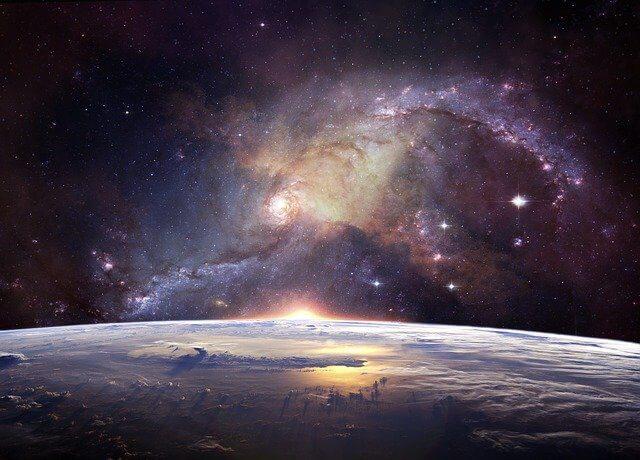Wünsche ans Universum senden.